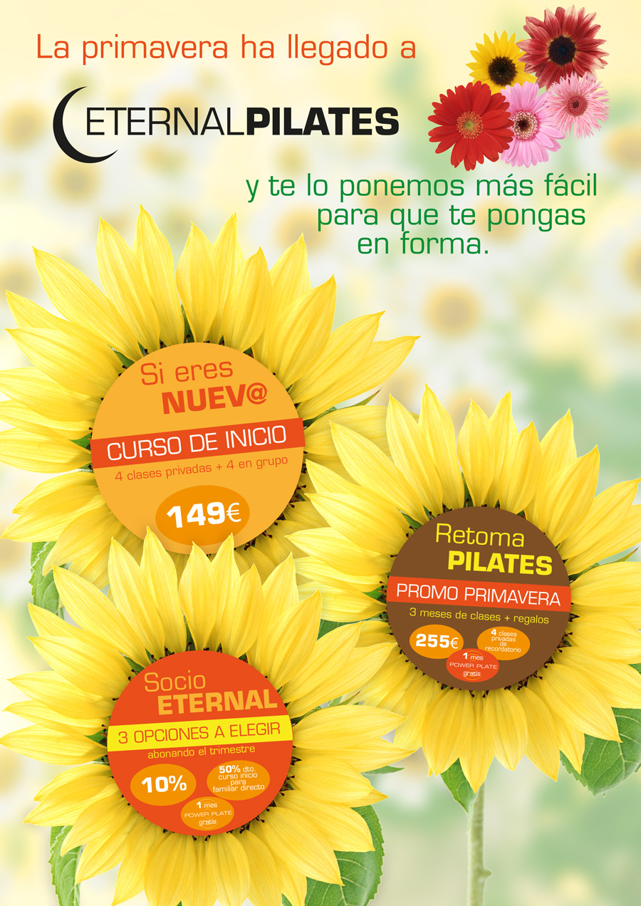 Primavera en Eternal Pilates